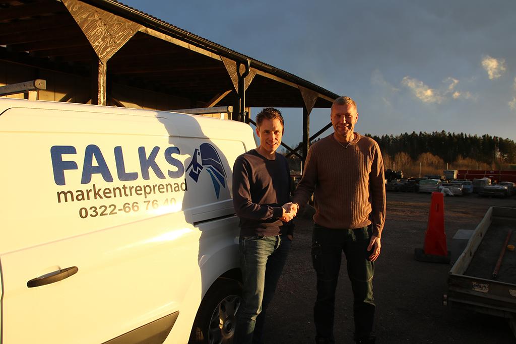 Tommy Larsson – ny vd på Falks Markentreprenad