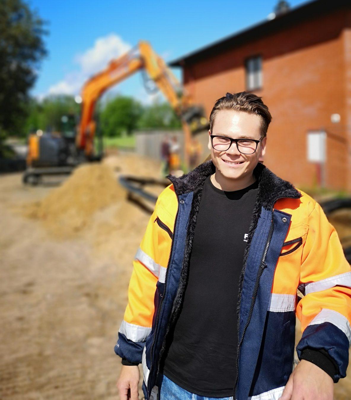 Falks Markentreprenad Fredrik Grönberg